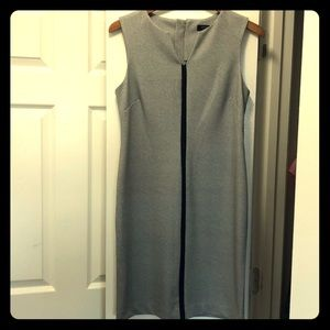 Sleek Patterned Shift Dress
